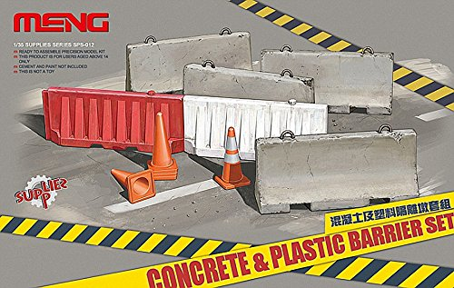 Meng Concrete and Plastic Barrier Set - Buy Online in UAE