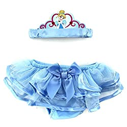 Disney Princess Baby Headband and Diaper Cover Set (Cinderella)