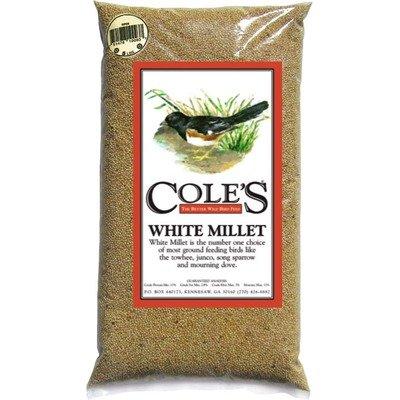 Cole's MI10 White Millet Bird Seed, 10-Pound, My Pet Supplies