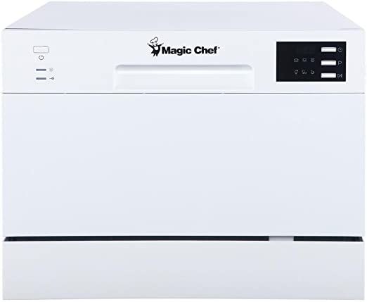 Amazon.com: Magic Chef Energy Star MCSCD6W5 - Lavavajillas ...