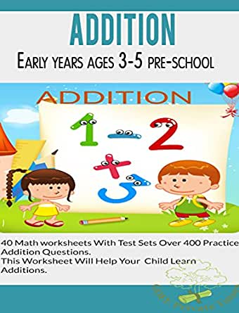 Amazon.com: Addition Worksheets: suitable for early years pre ...