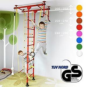 NiroSport FitTop M1 Spalliera Ginnastica per Bambini Svedese, Sicurezza Testata, Facile Installazione, Carico Massimo… 3 spesavip