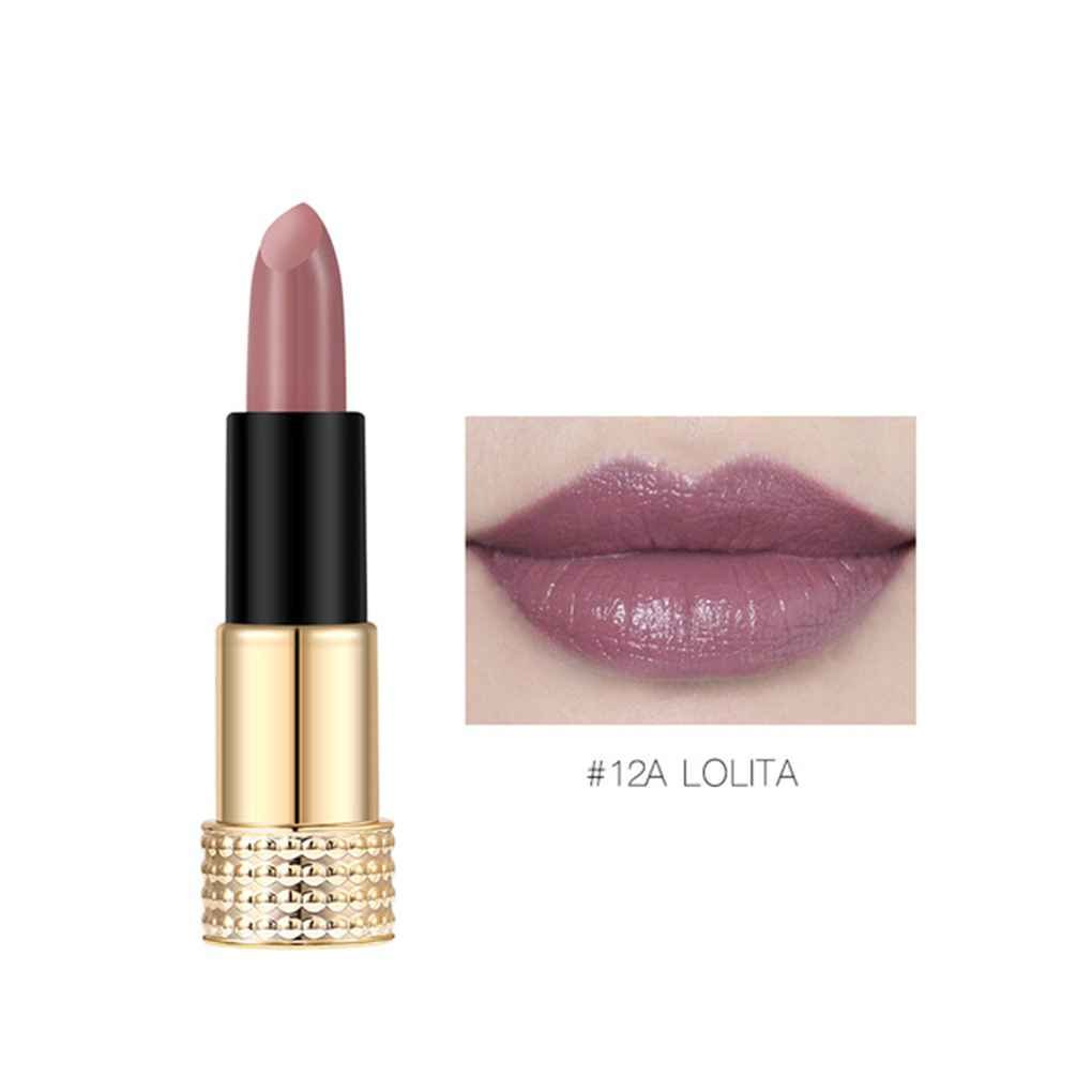 Meisijia O.TWO.O 12 colori Lip Gloss Waterproof Matte Long Lasting Liquid Lipstick antiaderente Lip Stain Lip Makeup
