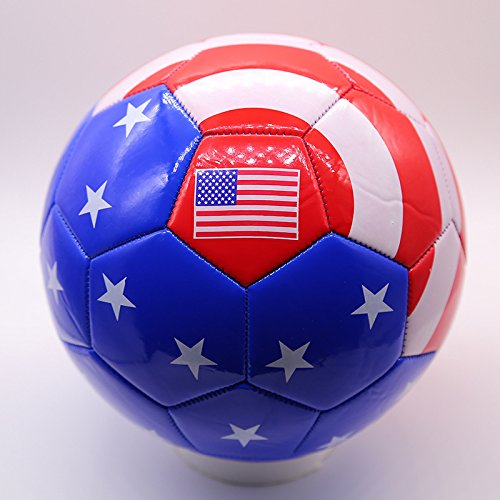 Mecar no。5 PVC American Flag Football Youth pupils Professional Football B07CVW7154