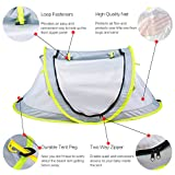 Baby Travel Bed, Portable Baby Beach Tent UPF