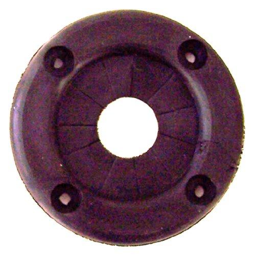 Rig Rite Manufacturing 615 Marine 2'' Black Rubber Rigging Grommet