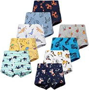 JackLoveBriefs Boys Cool Cotton Boxer Brief Underwear (Pack of 9)