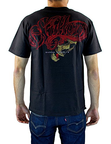 Sullen Men's Conklin Filigree SS T Shirt Black
