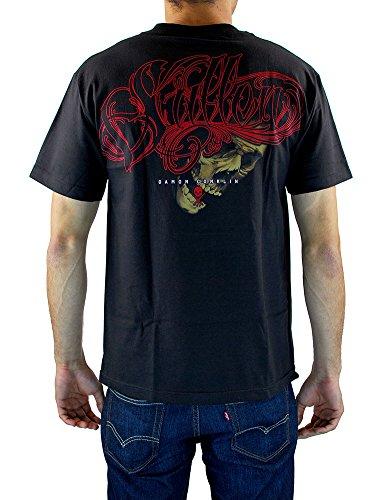 Sullen Men's Conklin Filigree SS T Shirt Black