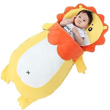 WUYEA Bebé recién Nacido Wrap Swaddle Manta Bebé Saco de Dormir Anti-Kick Manta Envuelta en algodón para 0-3 años,L: Amazon.es: Hogar