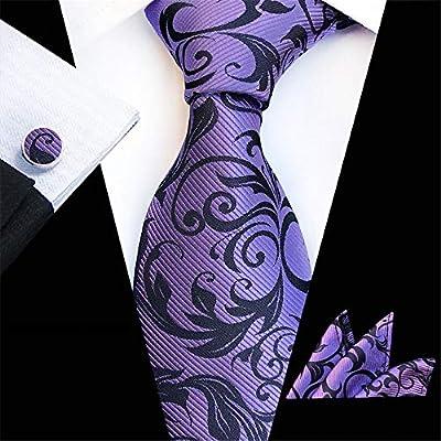 Corbatas Formal Clásica para Hombre Jacquard Tejido Corbata de ...