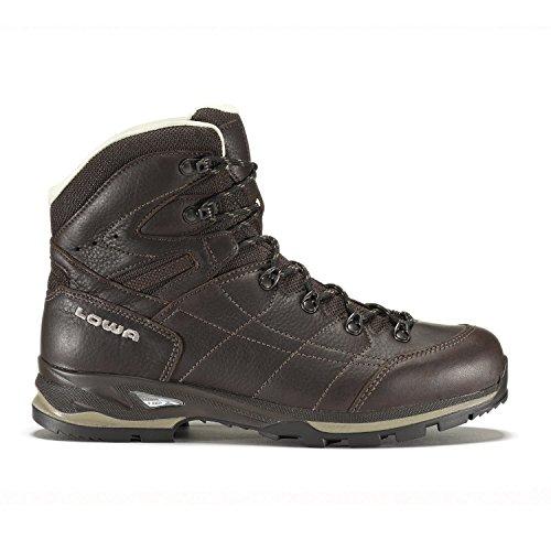Botas de senderismo botas Hudson LL MID para Hombre - marrón oscuro, color marrón, talla 12,5 UK