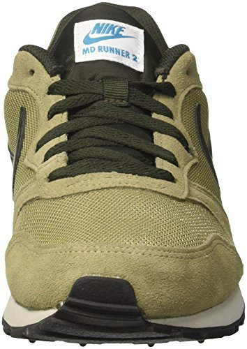 Olive Green Sequoia 201 Runner Lt 2 Sneakers Neutral s NIKE Blue Men Md wqO88zY