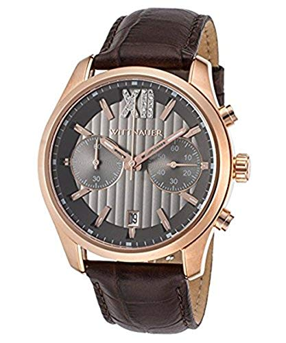 Wittnauer Brown Leather Strap Watch WN1016