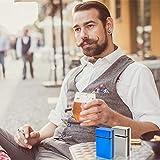 roygra One-Hand Operate Cigarette Case, Regular or