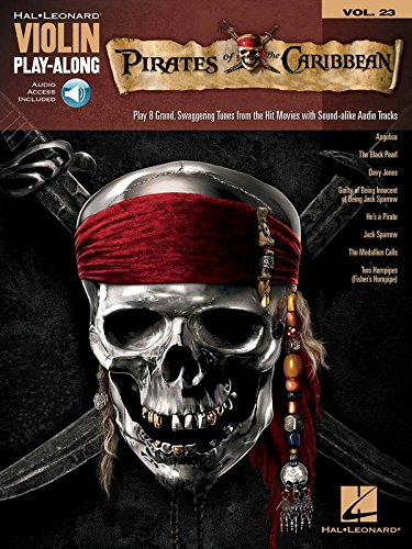 (Pirates of the Caribbean: Violin Play-Along Volume 23 (Hal Leonard Violin Play Along))