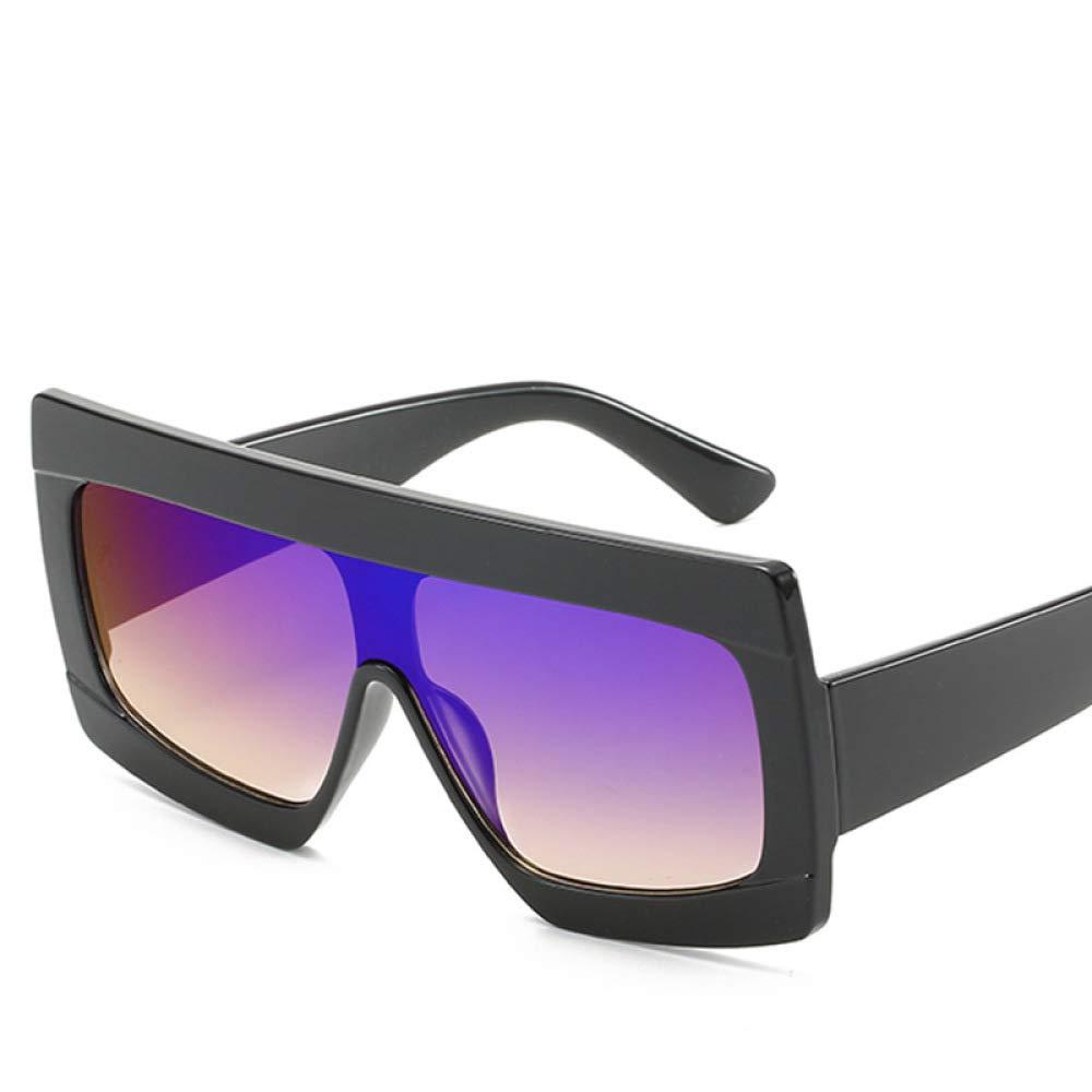 Yangjing-hl Gafas de Sol siamesas Gafas de Sol de Moda Mujer ...