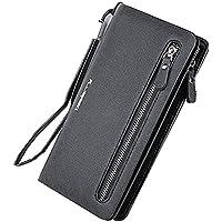 Lorna Women's/Girl's Long Zipper Pu Leather Wallet Clutch