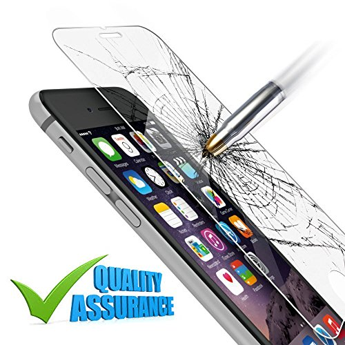iPhone 6 | 6s Screen Protector - [HD Clear] [Japanese Material] 9H Anti Shock Tempered Glass for Apple iPhone 6 | 6s [iPhone - Vuitton Glasses Men Louis For
