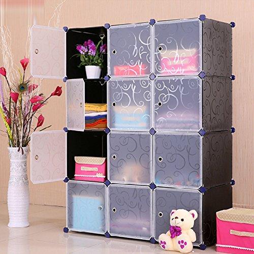 Do It Yourself Home Design: Multi Use DIY Plastic 12 Cube Organizer, Bookcase