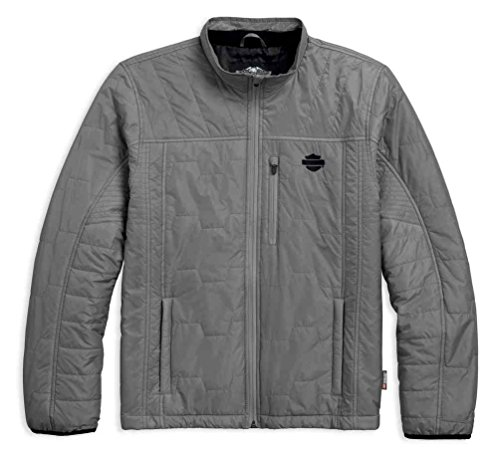 Harley-Davidson Men's Packable 3M Thinsulate Insulation Jacket 97442-18VM (Harley Davidson Nylon Jacket)
