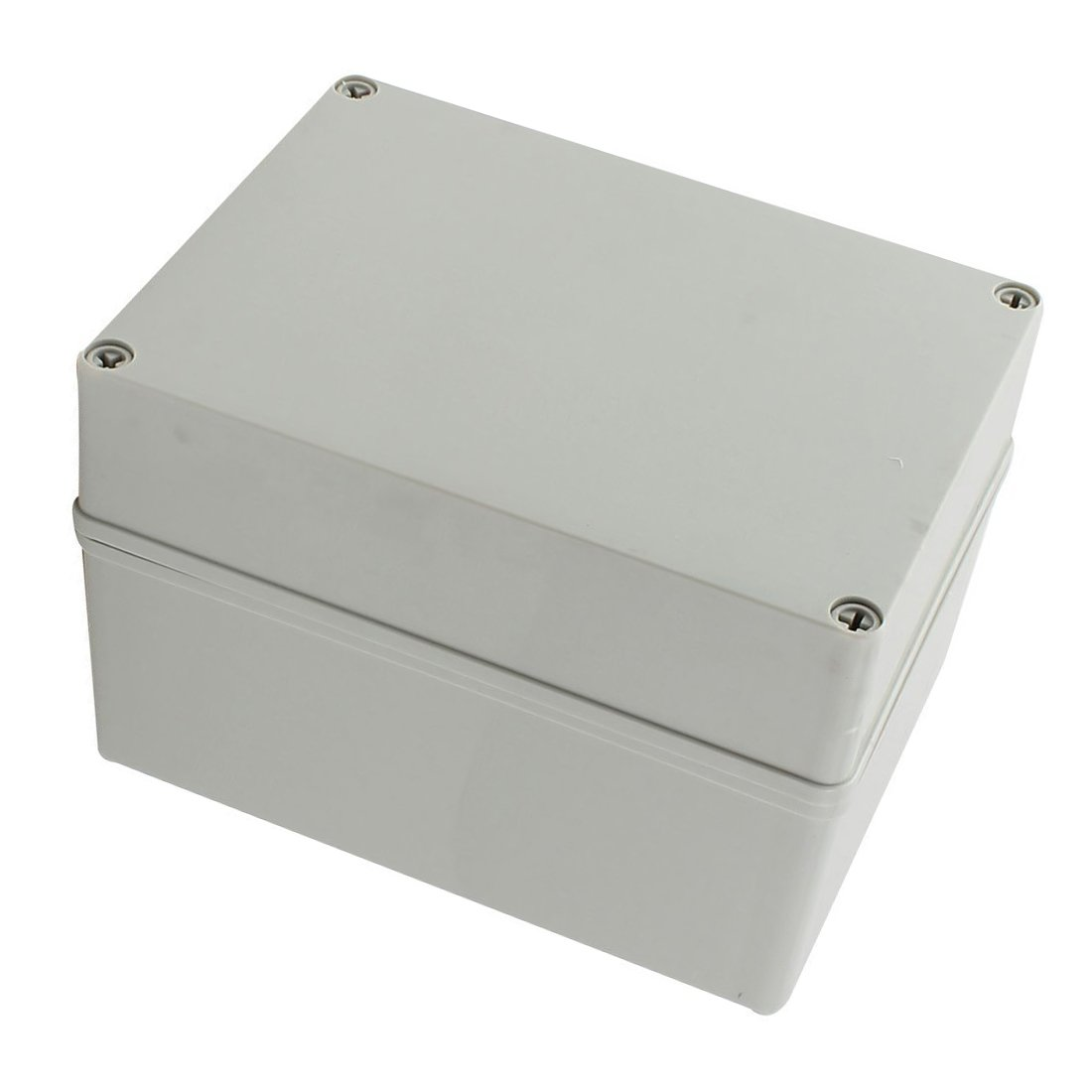 110 x 80 x 70mm YXQ 4.3 x 3.1 x 2.8 inches Electrical Project Case Junction Box IP65 Waterproof ABS DIY Power Outdoor Enclosure Gray