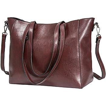 a1447f6199c Amazon.com  Women Top Handle Satchel Handbags Shoulder Bag Tote ...