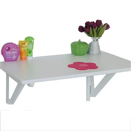 Mesa de Cocina de Madera Plegable Mesa de Hoja abatible montada en ...