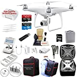 DJI Phantom 4 ADVANCED Drone Quadcopter Bundle Kit with 4K Professional Camera Gimbal and MUST HAVE Accessories