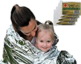 Emergency Survival Blanket Designed for NASA with up to 90%...