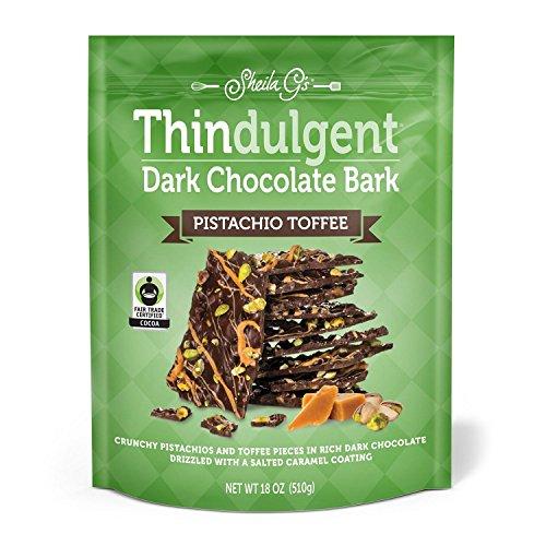 Thindulgent Dark Chocolate Pistachio Toffee product image