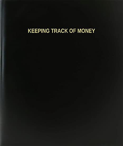 amazon com bookfactory keeping track of money log book journal