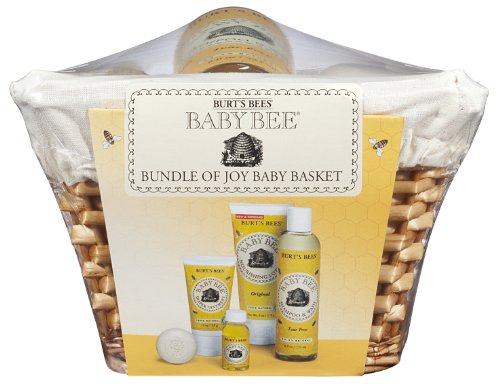 7a3c27a4f9fd Amazon.com  Burt s Bees Bundle of Joy Baby Basket  Health   Personal ...