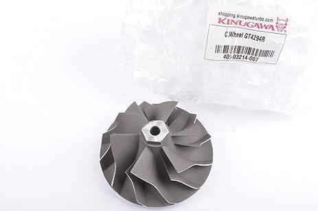 Kinugawa 405-03214-007 Turbo Compressor Wheel for Garrett GT4294R Ball Bearing 70.3mm