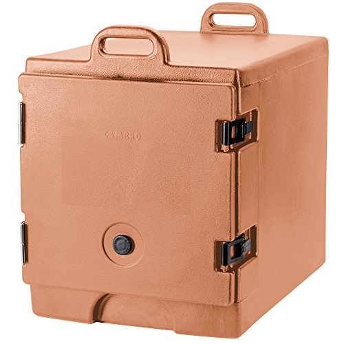 Cambro 300MPC157 Coffee Beige Camcarrier Pan Carrier with Handles - Front Load for 12