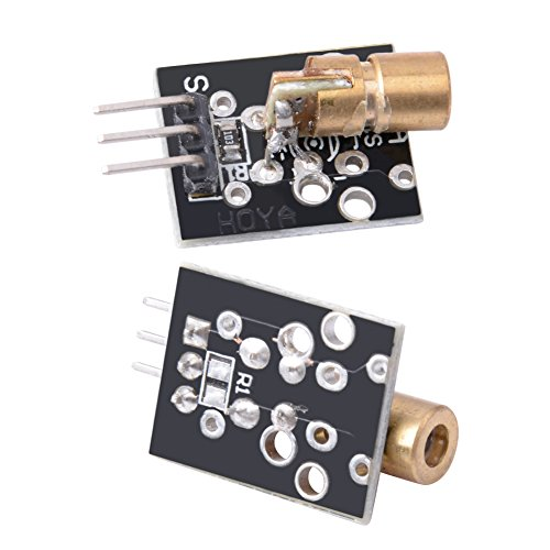 6 Pcs KY-008 Laser Dot Diode Copper Head Sensor Module for Arduino - Diode Detector