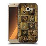Official HBO Game Of Thrones All Houses Golden Sigils Hard Back Case for Samsung Galaxy A5 (2017)