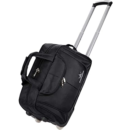 0e2b12dce57c BMHFF Luggage Rolling Duffel Bag Lightweight Waterproof Softshell Travel  Business Tote Bag Carry-On Suitcase