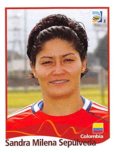 Official 2011 Fifa World Cup - 2011 Panini FIFA Women's World Cup Stickers Soccer #219 Sandra Milena Sepulveda Colombia Official 2 inch X 2 1/2 Inch Album Sticker