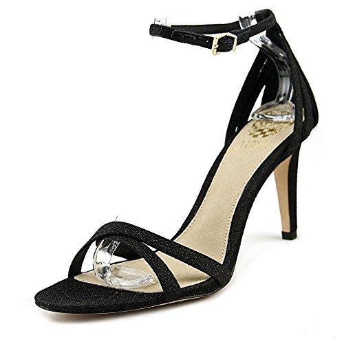 Vince Camuto Camron Women US 7.5 Black Sandals