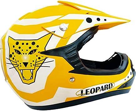 Leopard LEO-X17 *ECE 2205 Genehmigt* Kinderquad Kinder MX Motorradhelm Crosshelm Motocrosshelme Off Road Enduro Sport