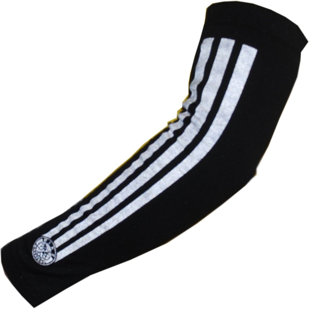 BikeWrappers Reflective Armwarmers - Medium