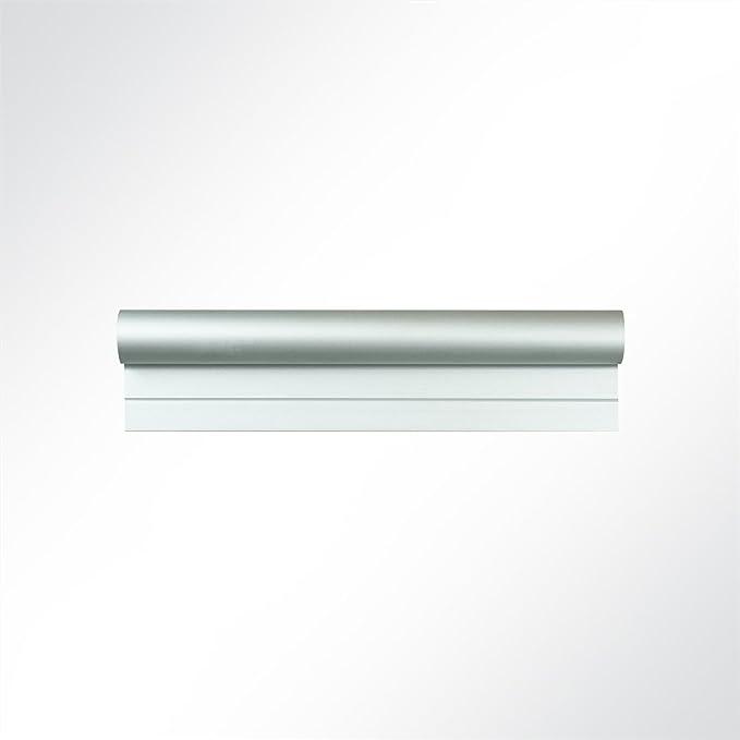 LYSEL/® Kederschiene 15x30mm blank 3m 90/° Grau /Ø10mm f/ür Keder 6-9mm