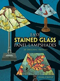 Amazon northern shades 25 full size patterns for stained easy stained glass panel lampshades 20 original designs dover stained glass instruction aloadofball Gallery