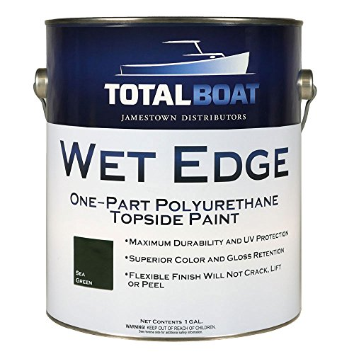 TotalBoat Wet Edge Topside Paint (Sea Green, Gallon)