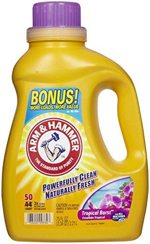 Arm & Hammer HE Liquid Laundry Detergent - 75 oz - Tropical