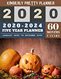 5 year monthly planner 2020-2024: 60 months planner