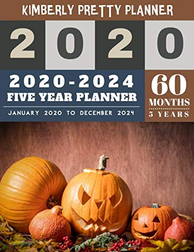 Medical Halloween Decorations (5 year monthly planner 2020-2024: 60 months planner | 2020-2024 Monthly Planner Calendar | internet login and password | 5 Year Goal Planner | Five ... Plan | pumpkin halloween)