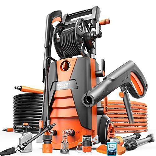 N / A Car wash Machine Household Washer Gun Cleaner Car Cleaning Pump Washing Machine Device 2100W High-Power, with Universal Spray Gun, 220V
