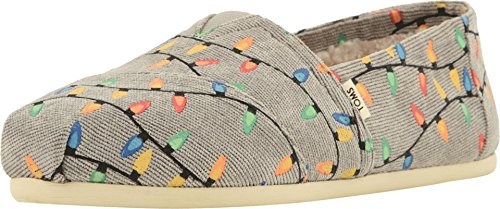 TOMS Women's Alpargata Espadrille, Size: 6.5 B(M) US, Color: Grey Cor Tree Lights Alp